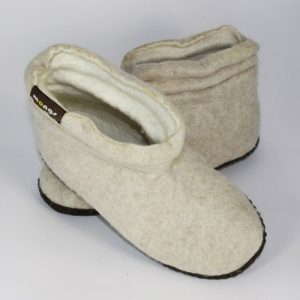 Damenpantoffeln Lady Mongs beige