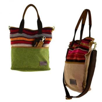 Handtaschen mit persischem Kelim