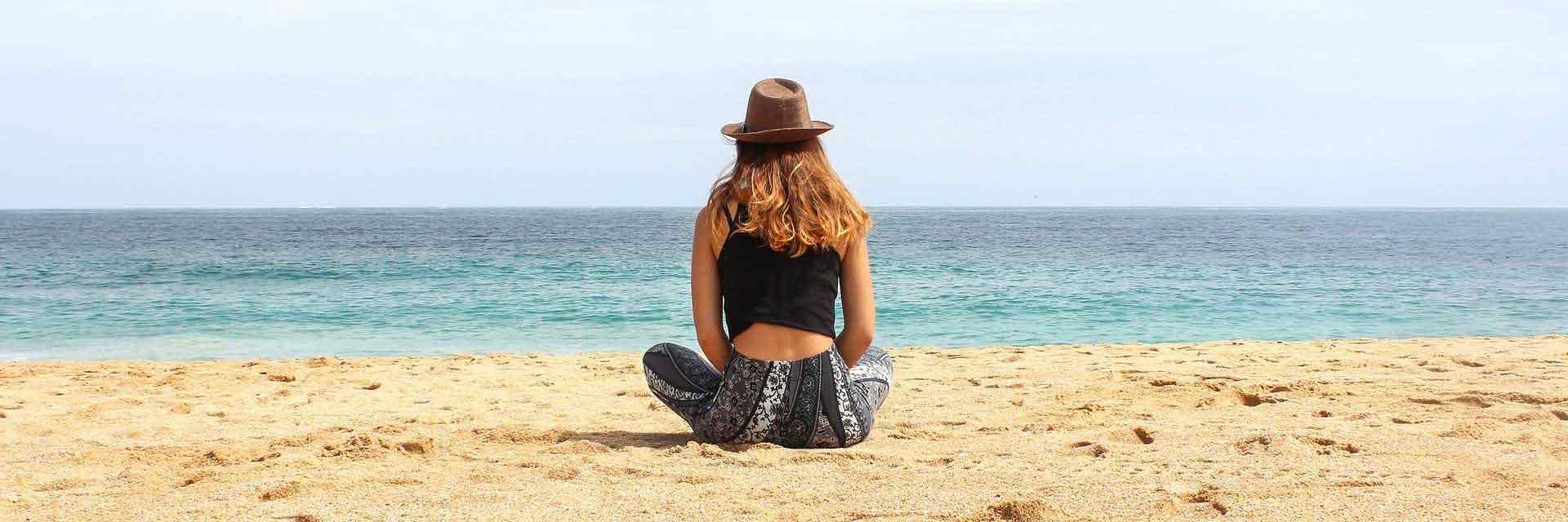 Yoga Titelbild Strand
