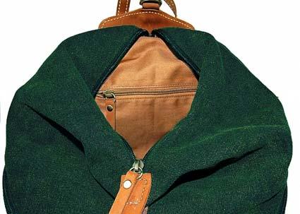 Rucksack von innen