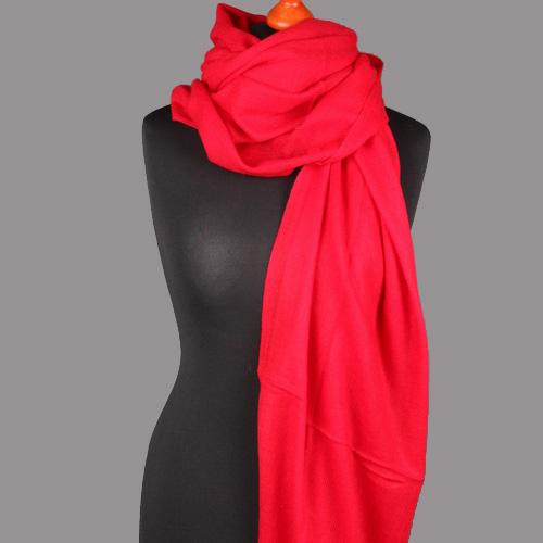Kaschmirschal rot