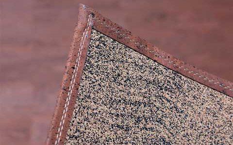 Korkteppich aus Korkleder