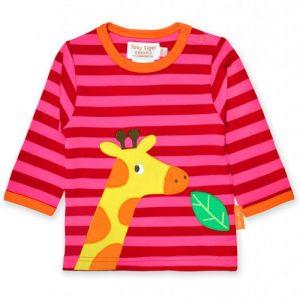 giraffe kindershirt langarm