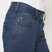 Bund Jeans Mahlia von der Seite